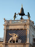 Il Clocktower di St Mark fotografie stock libere da diritti