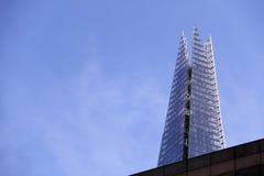 Il coccio che torreggia una costruzione Fotografia Stock Libera da Diritti