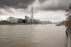 Il coccio ed il comune dalla torre di Londra Fotografie Stock