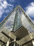 Il coccio, Londra sotto cielo blu Fotografie Stock