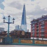 Il coccio nella città di Londra Fotografia Stock