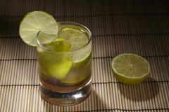 Caipirinha - cocktail Fotografia Stock