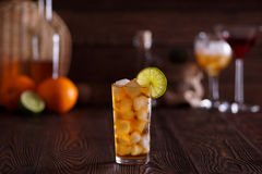 Il cocktail Long Island ha ghiacciato il tè Fotografie Stock