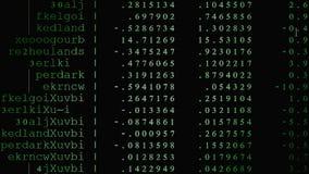 Il codice sorgente ha condotto 07 Immagine Stock