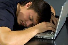 Il collega dormirà Immagine Stock Libera da Diritti