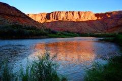 Il Colorado Riverway dell'Utah Fotografia Stock Libera da Diritti