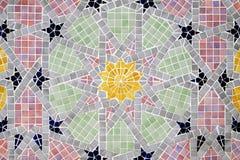 Il colore copre di tegoli la priorità bassa della decorazione Fotografia Stock