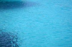 Il colore del mare ionico fotografie stock