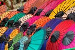 Il colore dell'ombrello Immagini Stock
