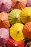 Il colore dell'ombrello Fotografie Stock