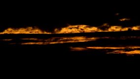 Il colore di sera si appanna in Falkensee, Brandeburgo Germania stock footage