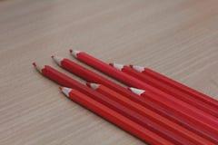 Il colore disegna a matita l'immagine Fotografie Stock Libere da Diritti