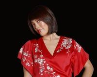 Il colore rosso è il mio colore favorito Fotografie Stock Libere da Diritti