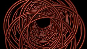Il colore rosso circonda la priorità bassa Fotografia Stock