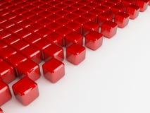 Il colore rosso cuba la priorità bassa illustrazione vettoriale