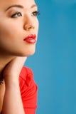 Il colore rosso di fascino compone fotografie stock libere da diritti