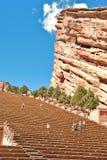 Il colore rosso oscilla il Amphitheatre Fotografia Stock Libera da Diritti