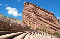 Il colore rosso oscilla il Amphitheatre II fotografia stock libera da diritti