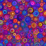 Il colore spruzza il fondo senza cuciture del modello del mosaico Fotografie Stock Libere da Diritti