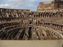 Il Colosseo Colosseum a Roma Immagini Stock