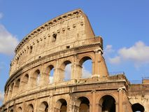 Il Colosseo a Roma Fotografie Stock Libere da Diritti