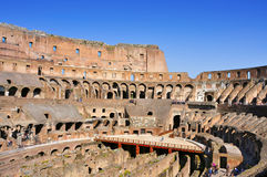 Il Colosseo a Roma, Italia Fotografia Stock Libera da Diritti