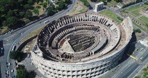 Il Colosseo romano video d archivio
