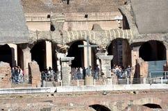 Il Colosseo romano fotografie stock