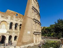 Il Colosseum di Roma fotografie stock libere da diritti