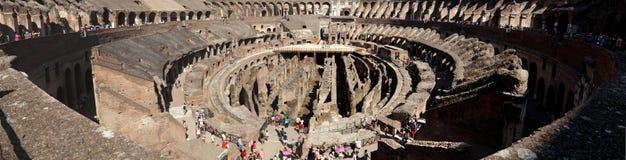 Il Colosseum/Flavian Amphitheater di Roma Fotografia Stock