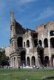 Il Colosseum o il Colosseo, anche conosciuto come Flavian Amphitheatre - Roma fotografia stock