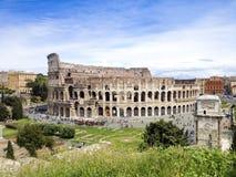 Il Colosseum a Roma, Italia Immagine Stock