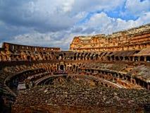 Il Colosseum a Roma, Italia Immagini Stock