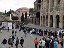 Il Colosseum a Roma, Italia fotografia stock libera da diritti