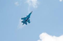 Il combattente guadagna l'altitudine Fotografie Stock