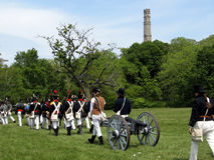 Il combattimento di Stoney Creek Battlefield termina 2009 Fotografie Stock Libere da Diritti
