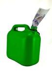 Il combustibile può Fotografia Stock Libera da Diritti