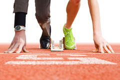 Il commercio è sport superiore Fotografie Stock
