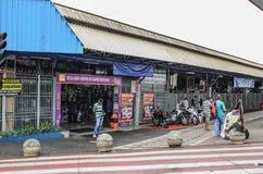 Il commercio locale ha chiamato Camelodromo de Campo Grande Immagini Stock