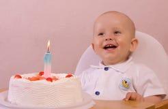 Il compleanno di sete - risata Fotografia Stock Libera da Diritti