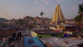 Il complesso architettonico maestoso di ultimo impero indiano archivi video