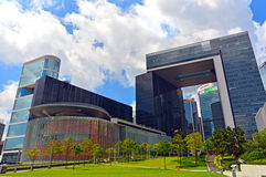Il complesso del consiglio legislativo, Hong Kong Immagine Stock Libera da Diritti