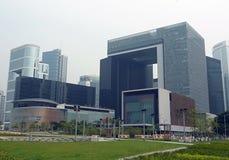 Il complesso del consiglio legislativo, Hong Kong Fotografia Stock