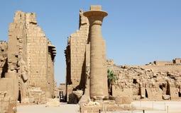 Il complesso del tempiale di Karnak. Fotografia Stock