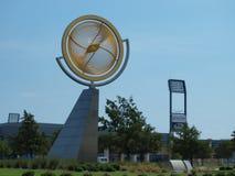 Il complesso nazionale del hall of fame di calcio con FC Dallas Youth Programs Feeding Teams fotografia stock