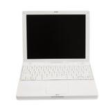 Il computer portatile ha isolato Immagine Stock Libera da Diritti