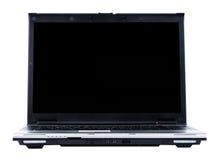 Il computer portatile ha isolato Fotografia Stock Libera da Diritti