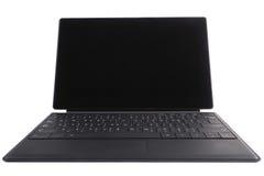 Il computer portatile isolato della compressa Immagine Stock Libera da Diritti