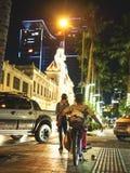 Il comune nella città di Saigon immagine stock libera da diritti
