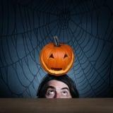 Il concetto della festa Halloween Immagini Stock Libere da Diritti